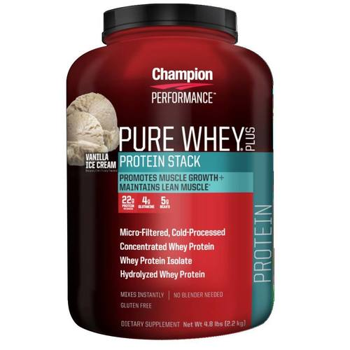 Champion Performance Pure Whey Protein Stack Strawberry Sundae - 4.8 lbs - 10062_01.jpg