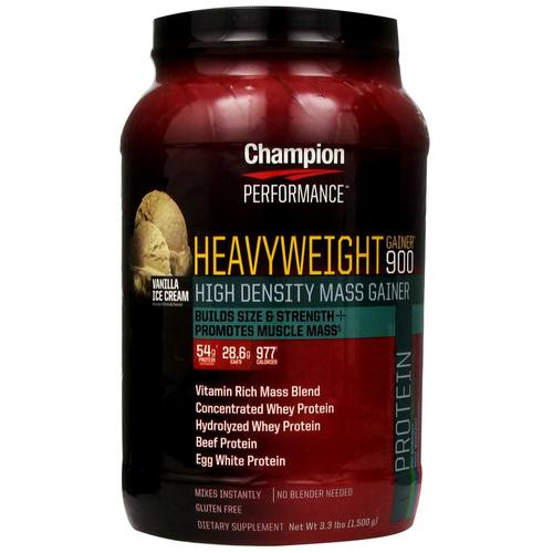 Champion Performance Heavyweight Gainer 900 Vanilla Ice Cream - 3.3 lbs - 10094_01.jpg