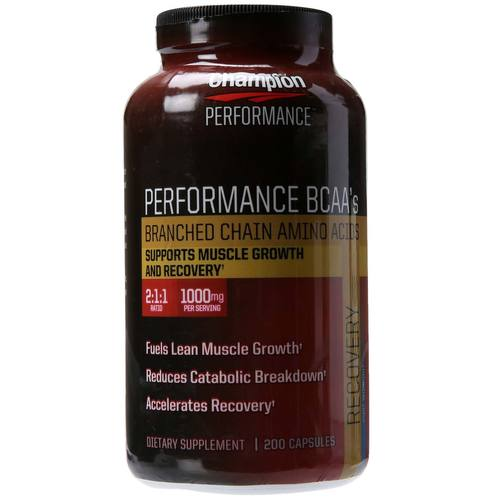 Performance BCAA's Wellness Nutrition