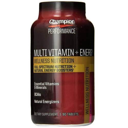 Multi Vitamin + Energy Wellness Nutrition