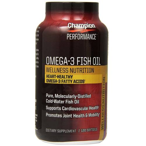 Omega 3 Fish Oil Wellness Nutrition