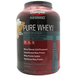 Champion Performance Pure Whey Plus Protein Stack