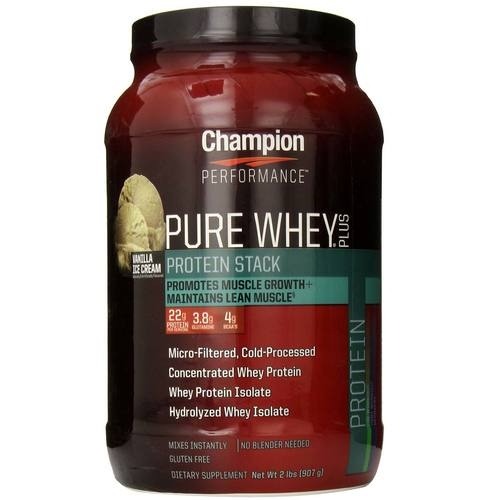Pure Whey Plus Protein Stack