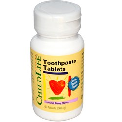ChildLife Toothpaste Tablets