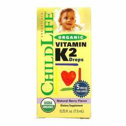 ChildLife Organic Vitamin K2 Drops