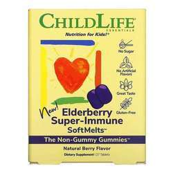 Childlife Elderberry Super-Immune Softmelts