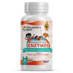 Children's Best Digestive Enzymes for Kids - Vegan
