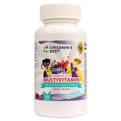 Children's Best Complete Sugar-Free Multivitamin for Kids - Non GMO- Vegan Based