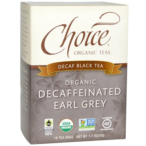 Organic Decaffeinated Earl Grey Black Tea