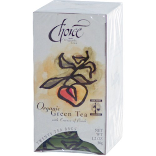 Green Tea with Essence of Peach