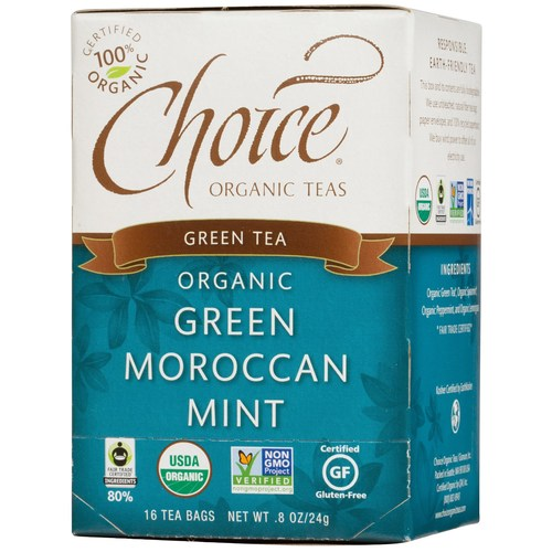 Organic Green Moroccan Mint Tea