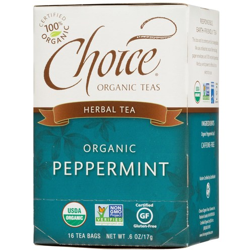 Organic Peppermint Herbal Tea