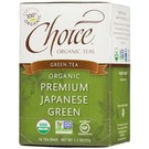 Choice Organic Teas Green Tea - Premium Japanese - 6 Boxes (16 Bags Each)