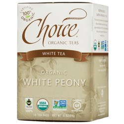 Choice Organic Teas Organic White Peony Tea