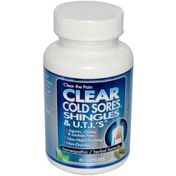 Clear Products Clear Shingles, Herpes & U.T.I.'s