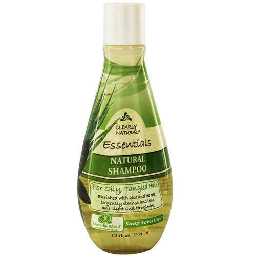 Natural Shampoo For Oily, Tangled Hair