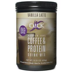 Click All-In-One Coffee Protein Powder