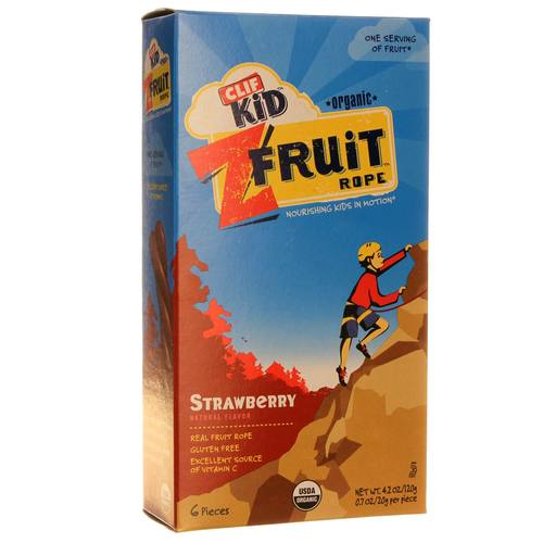 Clif Bar Kid Organic Z Fruit Rope Strawberry - 6 - .7 oz Bars - 20120925_205.jpg