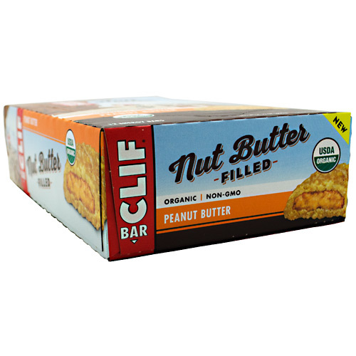 Clif Bar Nut Butter Filled Peanut Butter - 12 bars