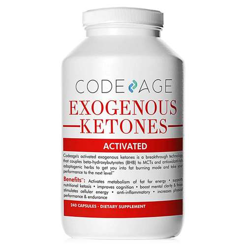 CodeAge Exogenous Ketones 240 Capsules - 352659_front.jpg