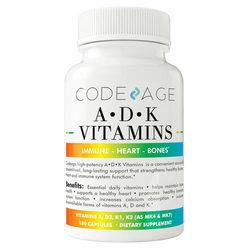 CodeAge A D K Vitamins