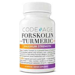 CodeAge Forskolin Turmeric