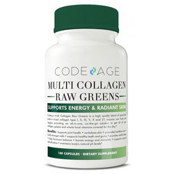 CodeAge Multi Collagen Raw Greens