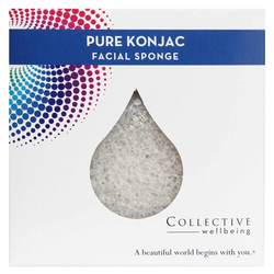 Collective Wellbeing Pure Konjac Facial Sponge