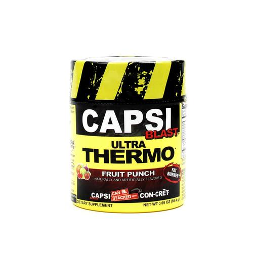 Con-Cret Capsi Blast Ultra Thermo Fruit Punch - 48 servings - 682676726486_1.jpg