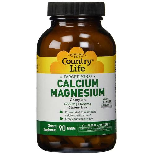 Country Life Calcium Magnesium Complex - 90 Tablets - 3580.jpg