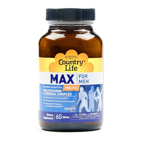 Country Life Max For Men - 60 Tablets - 015794081357_1.jpg