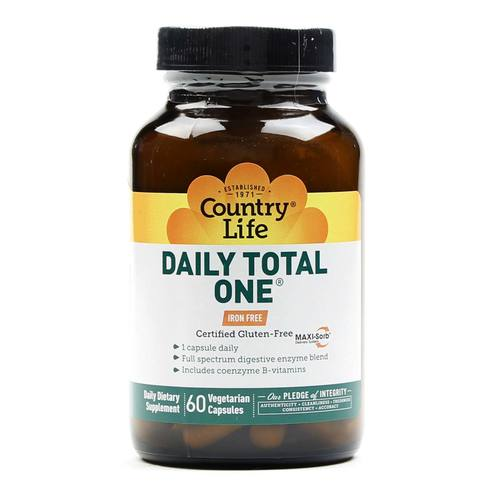 Daily Total One A Day Iron Free