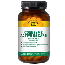Country Life Coenzyme Active B-6