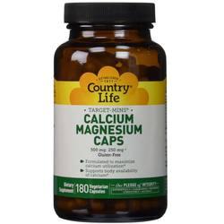 Country Life Calcium Magnesium Caps
