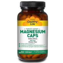 Country Life Magnesium Caps with Silica