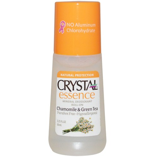 Crystal Essence Mineral Deodorant Roll On Chamomile and Green Tea - 2.25 fl oz - 25856_a.jpg