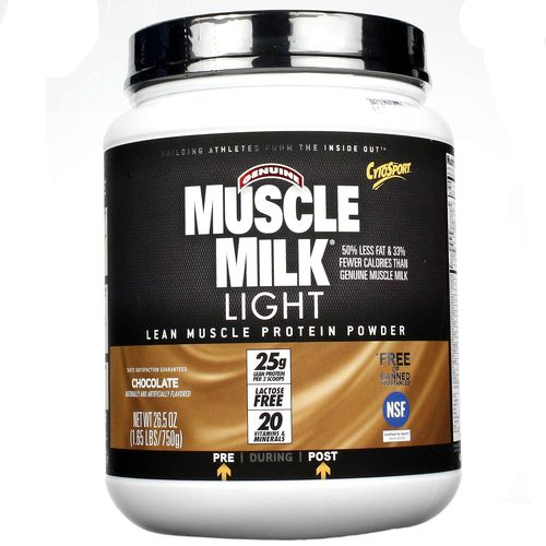 CytoSport Muscle Milk Light Chocolate Milkshake - 1.65 lbs - 660726593202_1.jpg