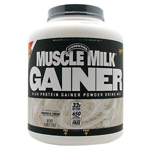 CytoSport Muscle Milk Gainer Cookies & Cream - 5 lbs