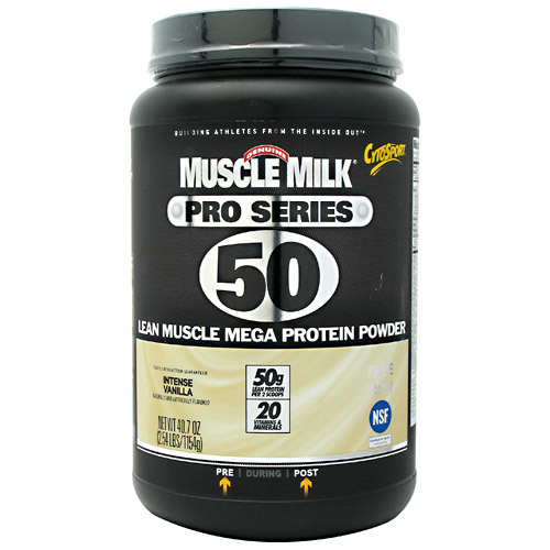 CytoSport Muscle Milk Pro Series 50 Intense Vanilla - 2.54 lbs