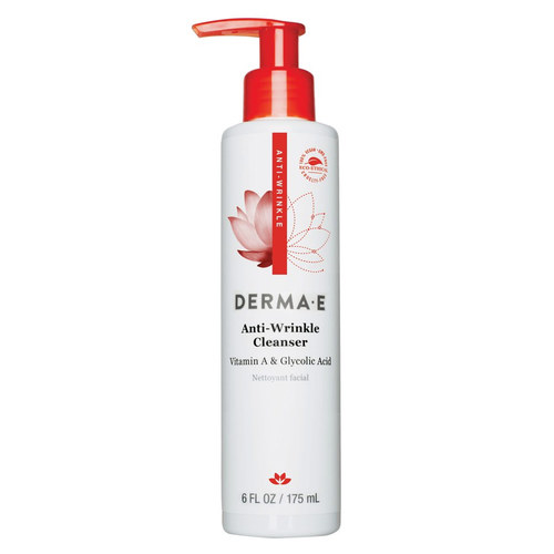 Derma E Anti-Wrinkle Vitamin A Glycolic Cleanser - 6 oz - 18536_front.jpg