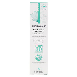 Derma E Sun Defense Mineral Sunscreen