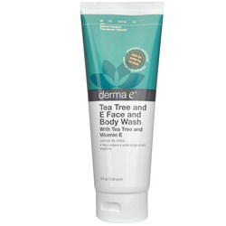 Derma E Tea Tree & E Face and Body Wash
