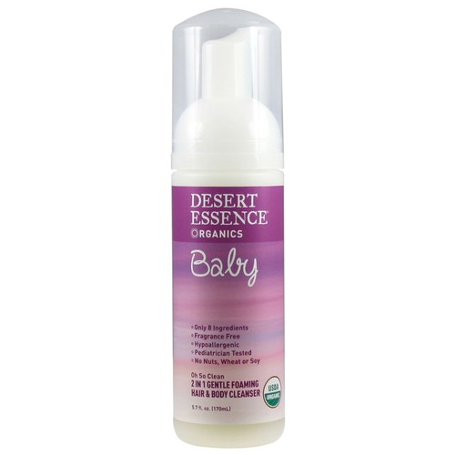 Baby 2-in-1 Gentle Foaming Hair  Body Cleanser