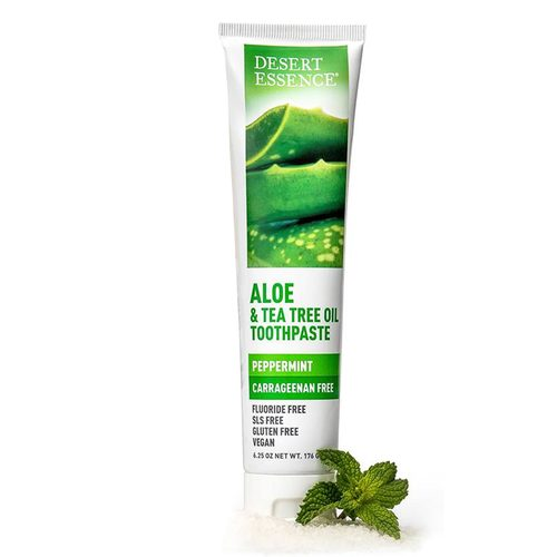 Tea Tree Oil  Aloe Toothpaste