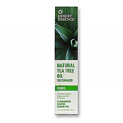 Desert Essence Tea Tree Oil Fennel Toothpaste