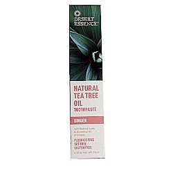 Desert Essence Tea Tree Oil Ginger Toothpaste