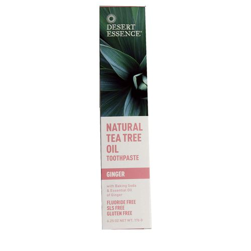 Tea Tree Oil Ginger Toothpaste