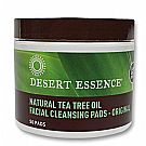 Desert Essence Natural Cleansing Pads 50 Pads