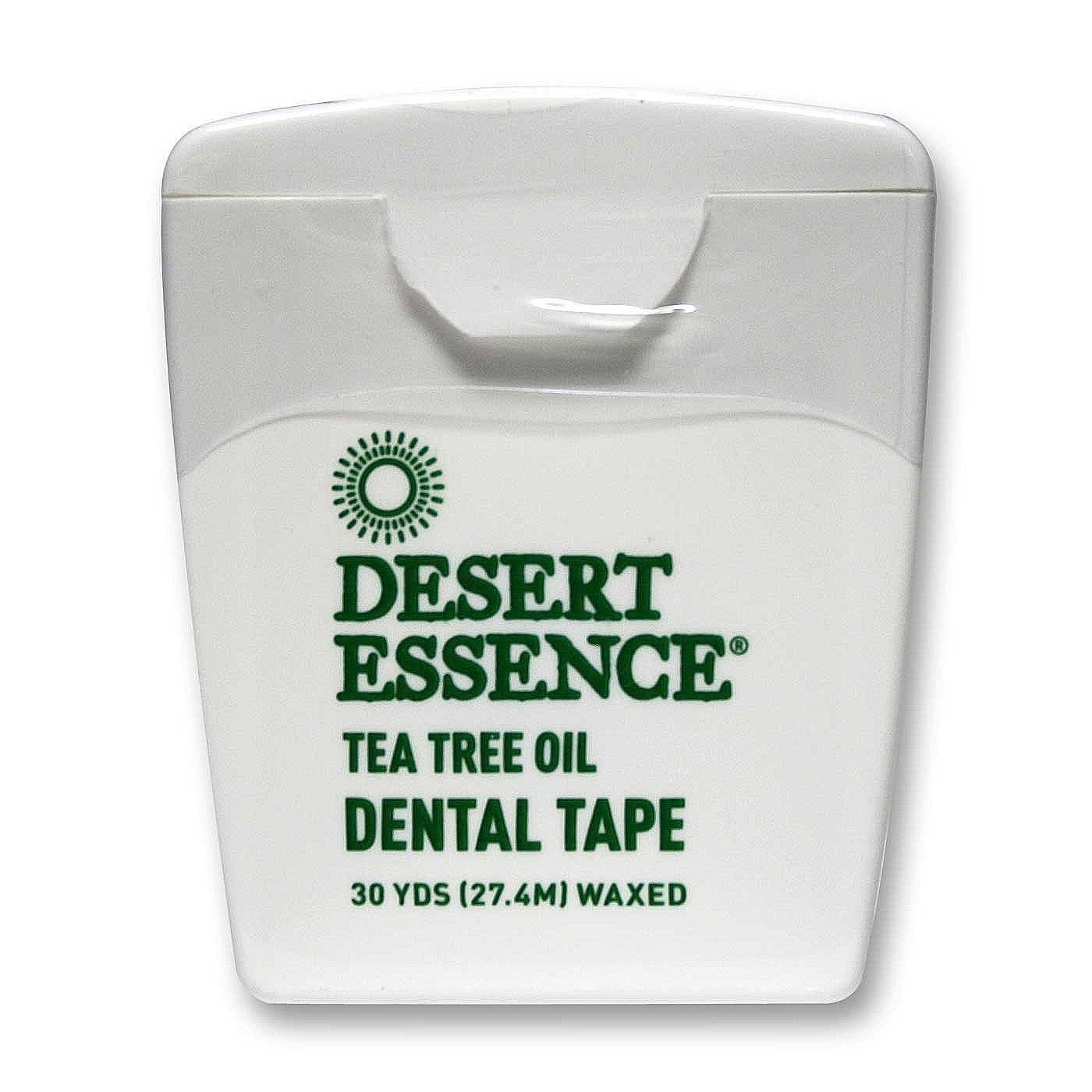 Desert Essence Tea Tree Oil Dental Tape 30 Yards Evitamins Com