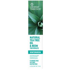 Desert Essence Tea Tree Oil With Wintergreen Toothpaste